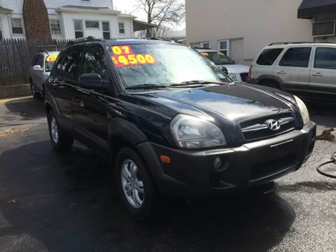 2007 Hyundai Tucson for sale at Metro Auto Exchange 2 in Linden NJ