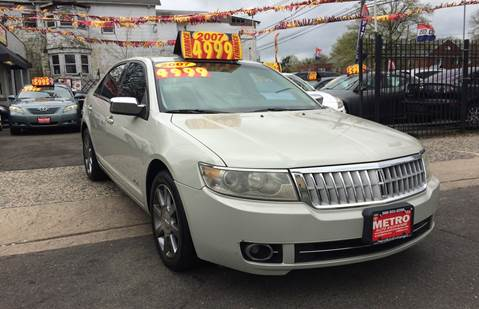 2007 Lincoln MKZ for sale at Metro Auto Exchange 2 in Linden NJ