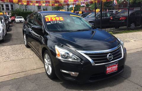 2014 Nissan Altima 2.5 SV for sale at Metro Auto Exchange 2 in Linden NJ