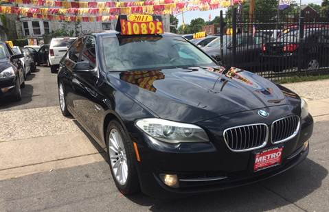 2011 BMW 5 Series 535i xDrive for sale at Metro Auto Exchange 2 in Linden NJ