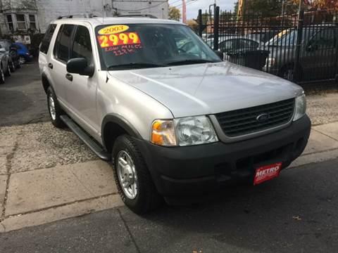 2003 Ford Explorer for sale in Linden, NJ