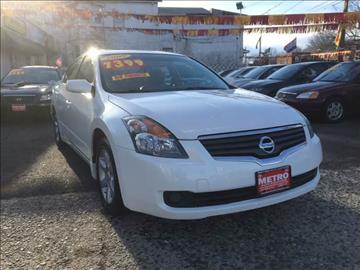 2009 Nissan Altima for sale at Metro Auto Exchange 2 in Linden NJ