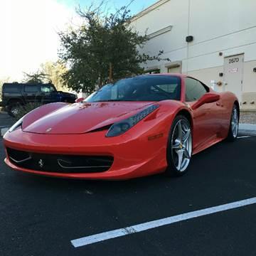 2011 Ferrari 458 Italia for sale in Linden, NJ