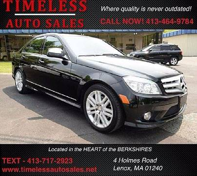 2009 Mercedes-Benz C-Class for sale in Lenox, MA