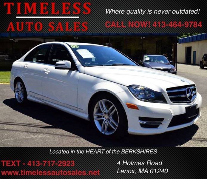 2014 Mercedes Benz C Class AWD C300 Sport 4MATIC 4dr Sedan   Lenox MA