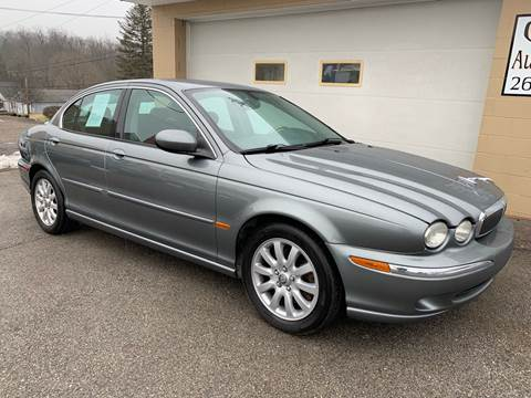 2003 Jaguar X-Type for sale at G & G Auto Sales in Steubenville OH