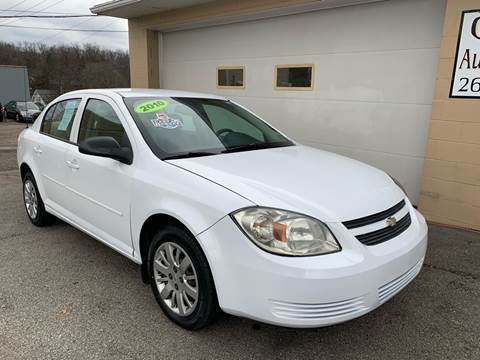 2010 Chevrolet Cobalt LS for sale at G & G Auto Sales in Steubenville OH