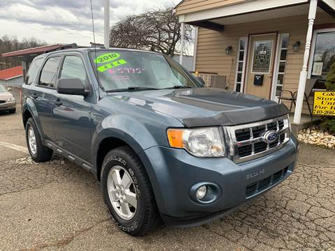 2010 Ford Escape XLT for sale at G & G Auto Sales in Steubenville OH