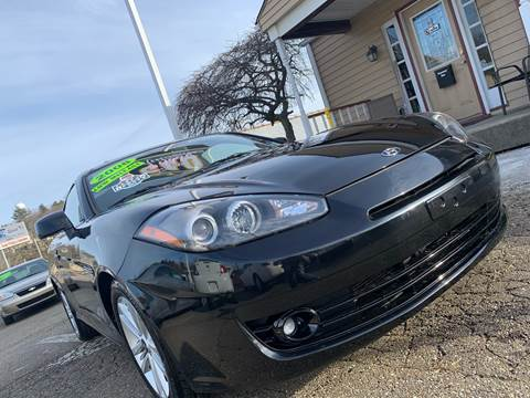 2008 Hyundai Tiburon for sale at G & G Auto Sales in Steubenville OH