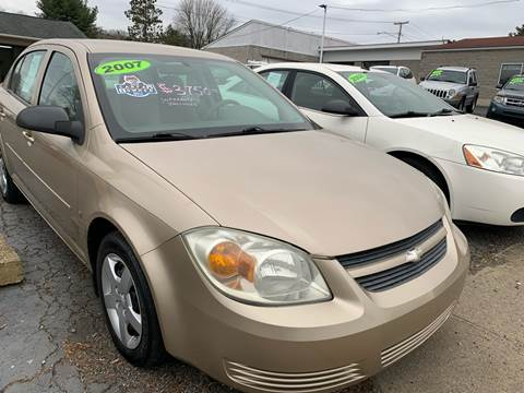 2007 Chevrolet Cobalt for sale at G & G Auto Sales in Steubenville OH
