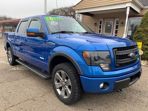 2013 Ford F-150 FX4 for sale at G & G Auto Sales in Steubenville OH