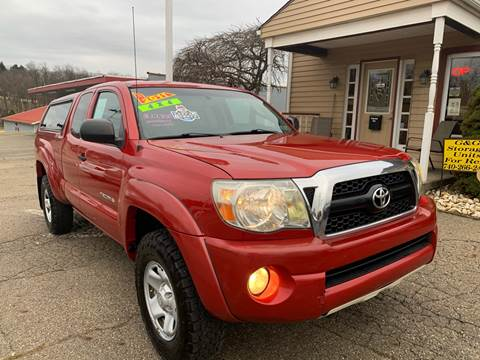 2011 Toyota Tacoma V6 for sale at G & G Auto Sales in Steubenville OH