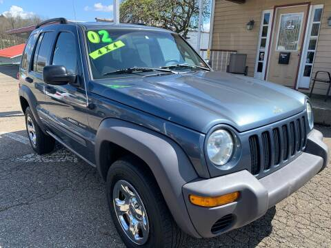 2002 Jeep Liberty for sale at G & G Auto Sales in Steubenville OH