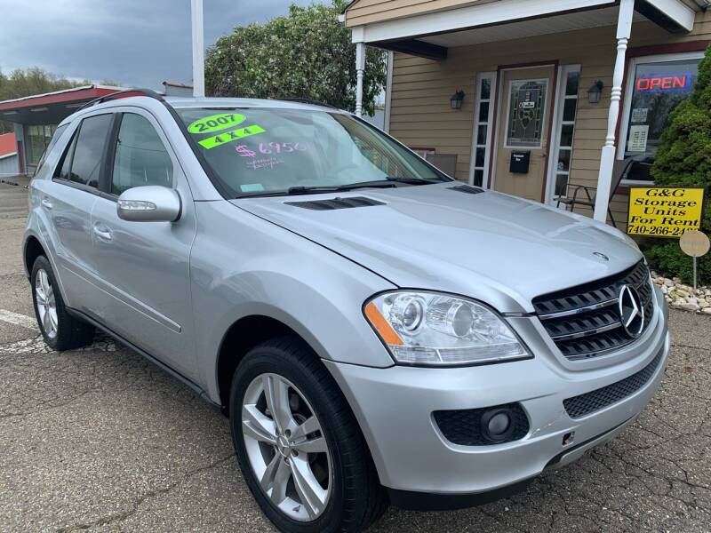 2007 Mercedes-Benz M-Class for sale at G & G Auto Sales in Steubenville OH