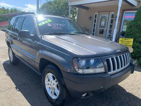 2004 Jeep Grand Cherokee for sale at G & G Auto Sales in Steubenville OH