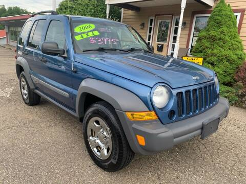 2006 Jeep Liberty Sport for sale at G & G Auto Sales in Steubenville OH