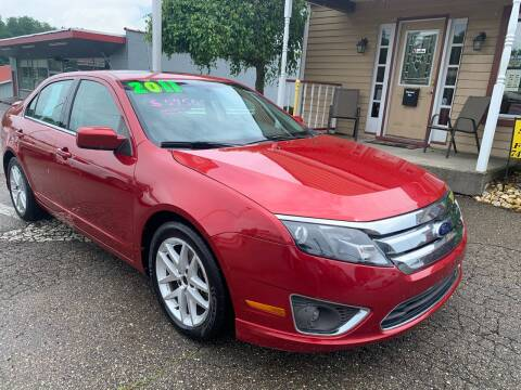2011 Ford Fusion for sale at G & G Auto Sales in Steubenville OH