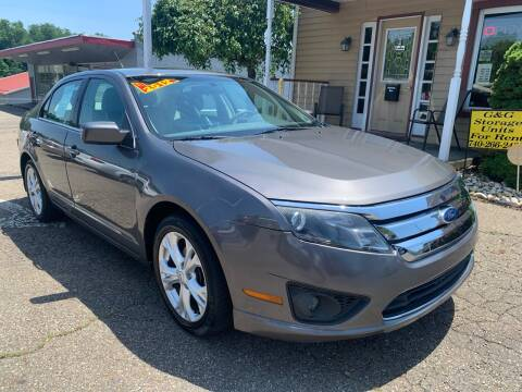 2012 Ford Fusion for sale at G & G Auto Sales in Steubenville OH