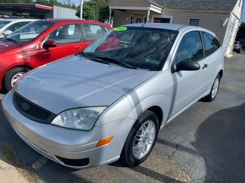 2006 Ford Focus for sale at G & G Auto Sales in Steubenville OH