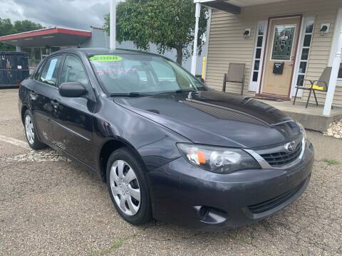 2008 Subaru Impreza for sale at G & G Auto Sales in Steubenville OH