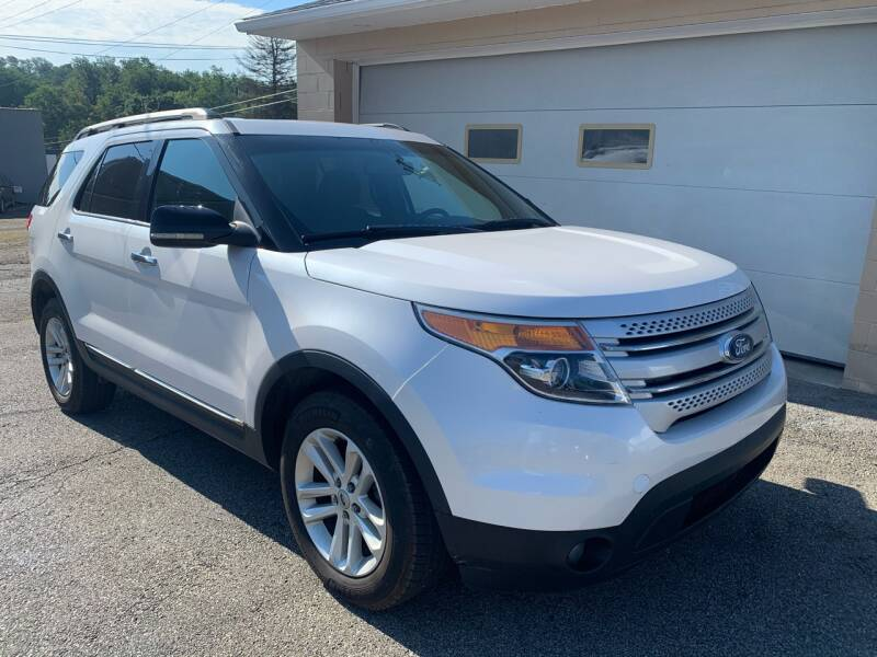 2011 Ford Explorer for sale at G & G Auto Sales in Steubenville OH