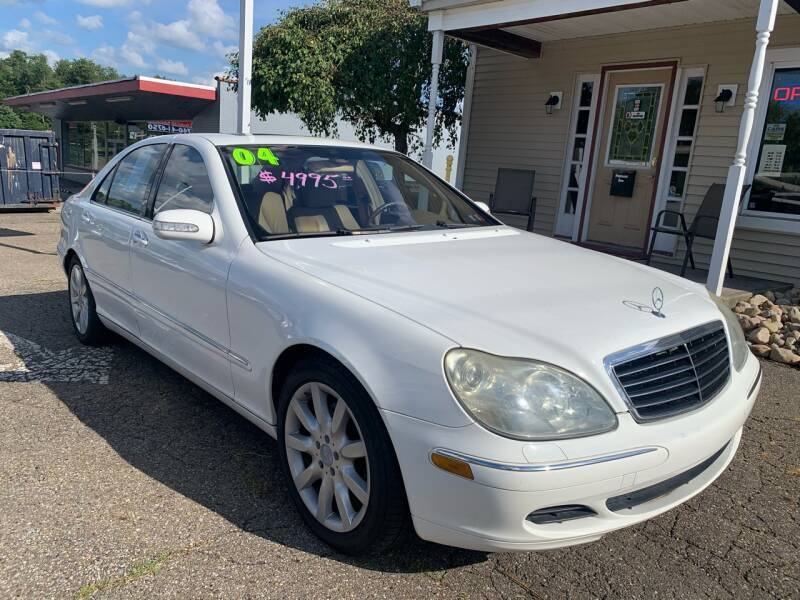 2004 Mercedes-Benz S-Class for sale at G & G Auto Sales in Steubenville OH