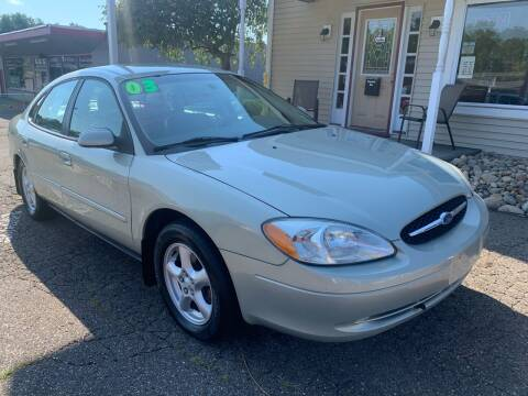 2003 Ford Taurus for sale at G & G Auto Sales in Steubenville OH