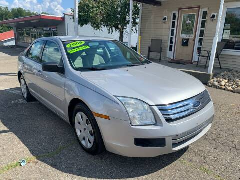 2008 Ford Fusion for sale at G & G Auto Sales in Steubenville OH
