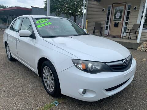 2010 Subaru Impreza for sale at G & G Auto Sales in Steubenville OH