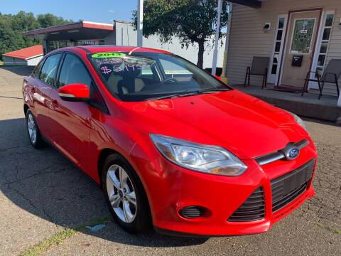 2013 Ford Focus for sale at G & G Auto Sales in Steubenville OH