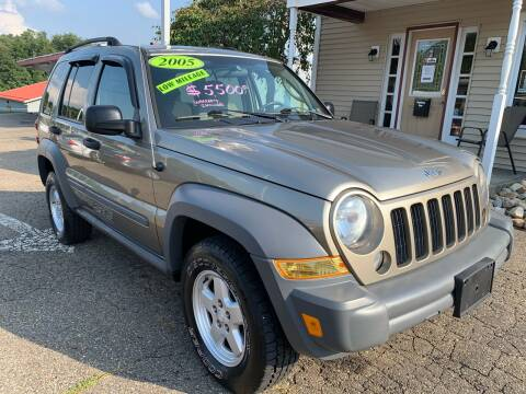 2005 Jeep Liberty for sale at G & G Auto Sales in Steubenville OH