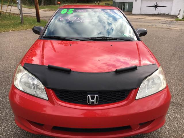 2005 Honda Civic LX 2dr Coupe - Steubenville OH
