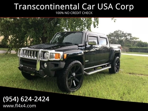 hummer used cars for sale fort lauderdale transcontinental car usa corp. Black Bedroom Furniture Sets. Home Design Ideas