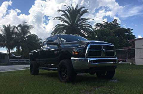 2012 RAM Ram Pickup 2500 for sale at Transcontinental Car USA Corp in Fort Lauderdale FL