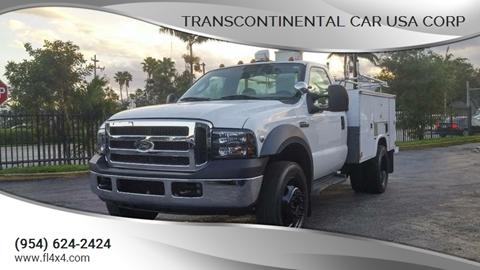 2006 Ford F-450 for sale at Transcontinental Car USA Corp in Fort Lauderdale FL