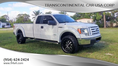 2012 Ford F-150 for sale at Transcontinental Car USA Corp in Fort Lauderdale FL