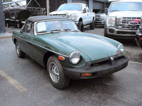 1980 MG MGB for sale in Fort Lauderdale, FL