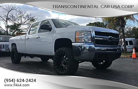 2012 Chevrolet Silverado 2500HD for sale at Transcontinental Car USA Corp in Fort Lauderdale FL