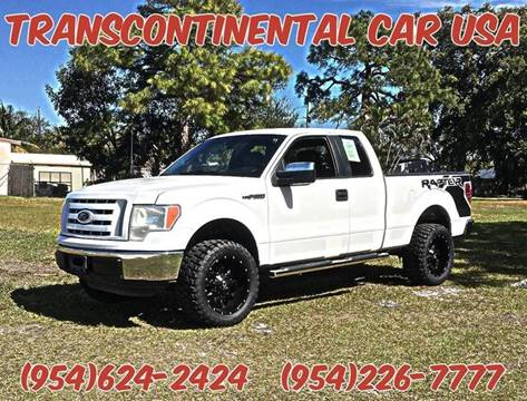 2011 Ford E-150 for sale at Transcontinental Car USA Corp in Fort Lauderdale FL