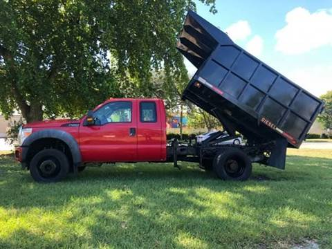 2011 Ford F-450 Dump Truck for sale in Fort Lauderdale, FL