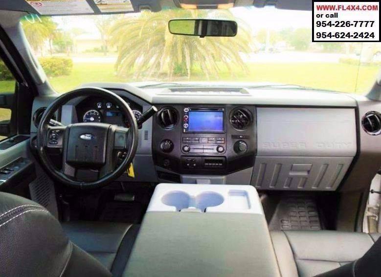 2011 Ford F-250 Super Duty 4x4 Crew Cab Pick Up - Fort Lauderdale FL