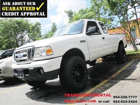 2008 Ford Ranger for sale at Transcontinental Car USA Corp in Fort Lauderdale FL