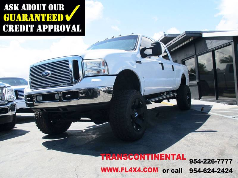 2005 Ford F-250 Super Duty for sale at Transcontinental Car USA Corp in Fort Lauderdale FL
