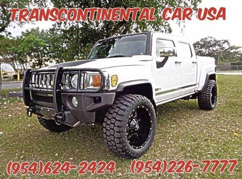 2009 HUMMER H3T for sale in Fort Lauderdale, FL