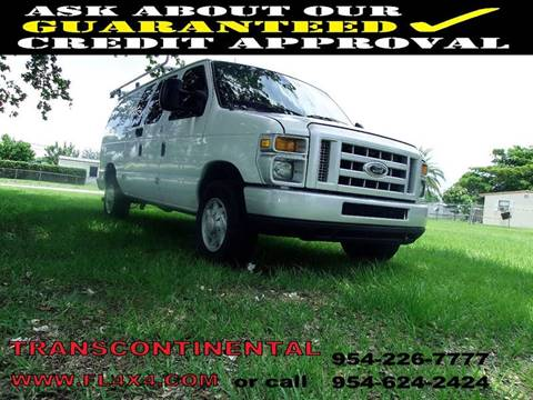 2008 Ford E-Series Cargo for sale at Transcontinental Car USA Corp in Fort Lauderdale FL