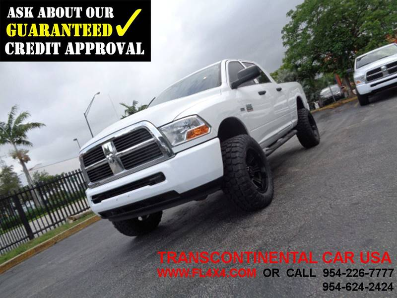2011 RAM Ram Pickup 2500 for sale at Transcontinental Car USA Corp in Fort Lauderdale FL