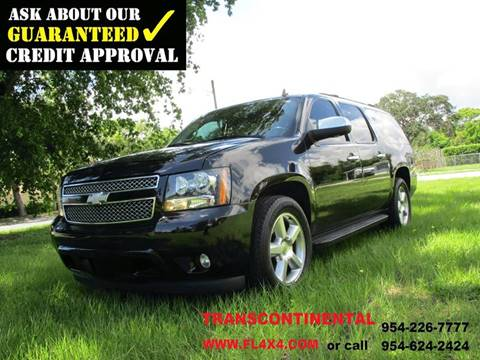 2007 Chevrolet Suburban for sale at Transcontinental Car USA Corp in Fort Lauderdale FL