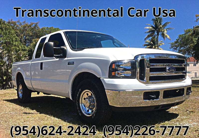 2004 Ford F-250 Super Duty for sale at Transcontinental Car USA Corp in Fort Lauderdale FL
