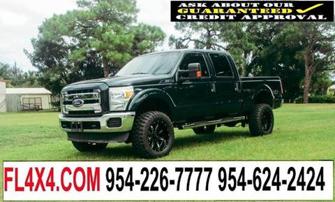 2011 Ford F-350 Super Duty for sale at Transcontinental Car USA Corp in Fort Lauderdale FL