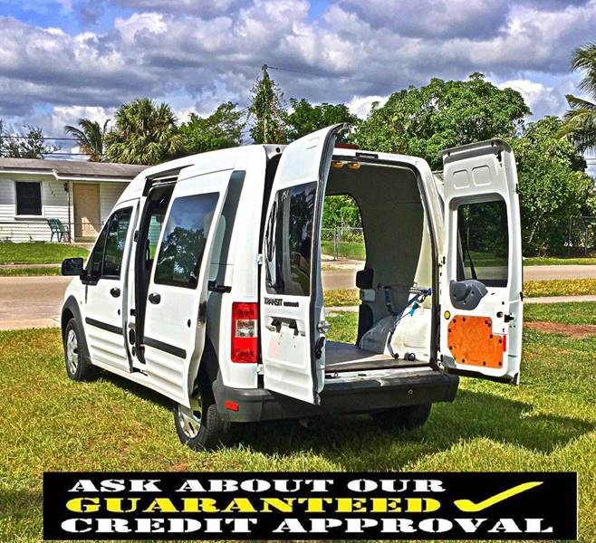 2010 Ford Transit Connect XL 4dr Cargo Mini-Van W/Side And